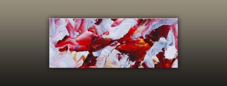 Kunstdruck auf Leinwand Abstrakt