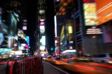Wandbilder New York Wandbilder  Time Square bei Nacht in New York