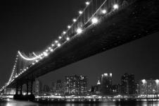 Wandbilder New York Wandbilder  New York Manhattan Skyline at Night