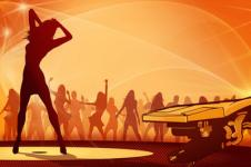 Wandbilder Retro und Lounge Wandbilder  Join the Rave