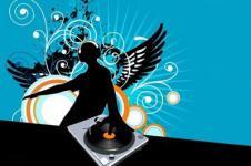 Leinwandbilder Retro und Lounge Wandbilder  DJ at Work Music Art