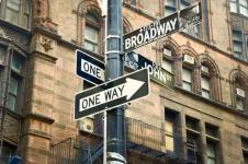 Leinwandbilder New York Wandbilder  Broadway New York