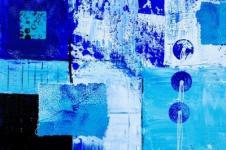 Kunstdrucke Leinwand Wandbilder  Kunstdruck Zeitgenössische Kunst Malerei kubistisch auf Leinwand
