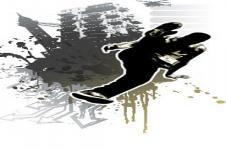 Leinwandbilder Retro und Lounge Wandbilder  Breakdance Digital Graffiti Art