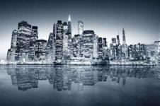 Wandbilder New York Wandbilder  Blick auf Manhattan New York