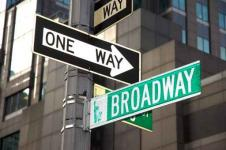 Leinwandbilder New York Wandbilder  New York Broadway