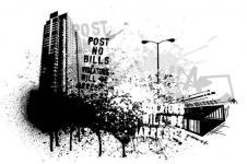 Wandbilder Retro und Lounge Wandbilder  Born on the Streets Digital Art