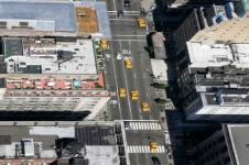 Wandbilder New York Wandbilder  Luftaufnahme New York City