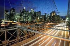 Leinwandbilder New York Wandbilder  New York Brooklyn Bridge