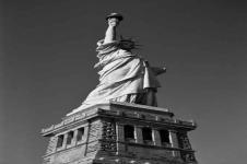 Wandbilder New York Wandbilder  Blick auf die Freiheitsstatue in New York