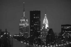 Wandbilder New York Wandbilder  Midtown Manhattan Innenstadt New York nachts