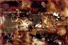 Kunstdrucke Leinwand Wandbilder  Kunstdruck auf Leinwand abstrakte Collage