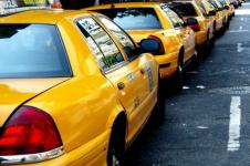 Leinwandbilder New York Wandbilder  Taxis in New York
