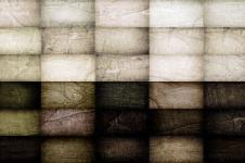 Kunstdrucke Leinwand Wandbilder   Kunstdruck Malerei kubistisch Quadrate auf Leinwand
