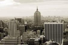 Wandbilder New York Wandbilder  New York Manhattan Luftaufnahme