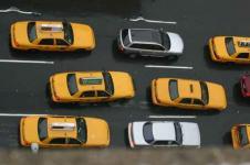 Leinwandbilder New York Wandbilder  Taxis in New York City