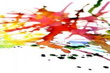Kunstdrucke Leinwand Wandbilder  Wet Paint Aquarell Kunst