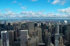 Leinwandbilder New York Wandbilder  Weiter Blick über New York