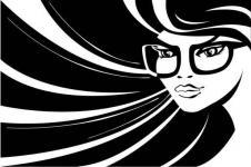 Kunstdrucke Leinwand Wandbilder  Digital Art Fashion Girl