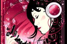 Wandbilder Retro und Lounge Wandbilder  Dreaming Girl