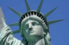 Leinwandbilder New York Wandbilder  Freiheitsstatue von New York ganz nah