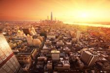 Leinwandbilder New York Wandbilder  Blick auf die Straßen von New York