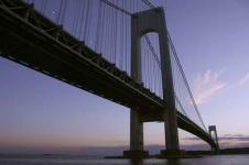 Wandbilder New York Wandbilder  Die Verrazano Brücke in New York